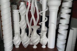 3D DÖNER TABLA + CNC STRAFOR KESİM MAKİNESİ